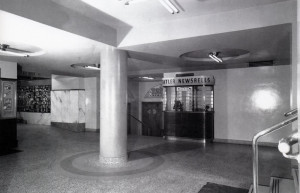 Newsreel cinema and theatre underground Australia Hotel Tatlers