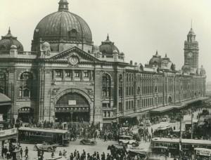 Flinders Street Station 1920s