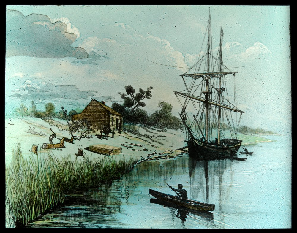 The Enterprize lands at the Yarra River 30 August 1835